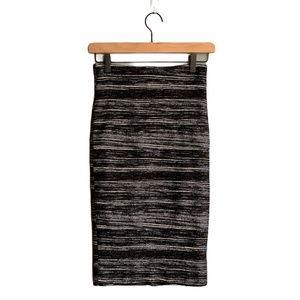 Nicole Miller High Waist Bodycon Skirt